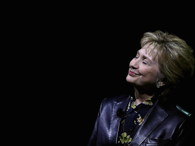 Hillary Clinton: 'There Is No Place I'd Rather Be Than Here With You, Other Than the White House'