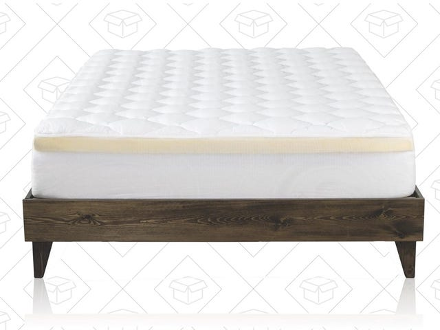 Clip The Coupon to Save $20 Off This Hotel-Quality Mattress Topper