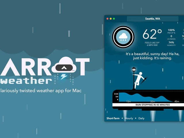 CARROT Weather Comes to Mac and the iOS App Gets Improvements to Match