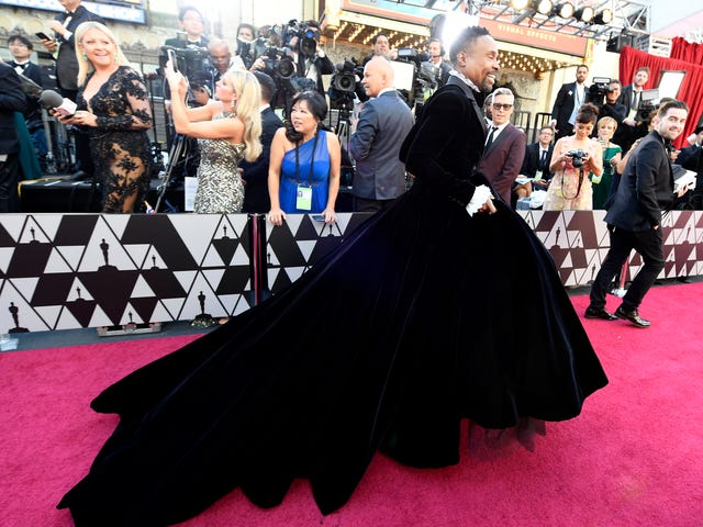 Billy Porter Wore a Gown and You Will Deal With It