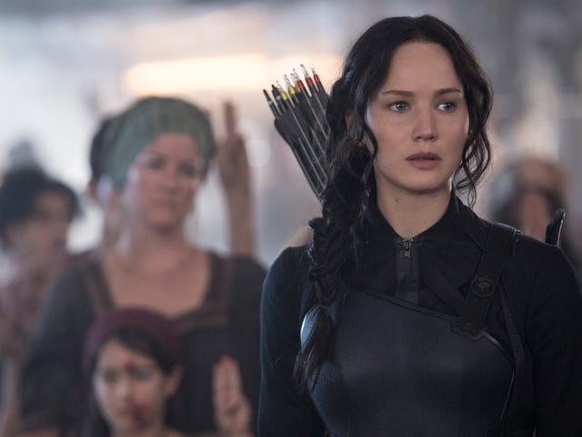 In The Brilliant New Hunger Games Film, Katniss Can't Escape The Arena