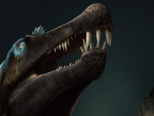Well-Preserved Tail of Terrifying Aquatic Dinosaur Shows It Was a Formidable Swimmer