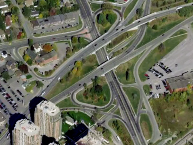 Big change for a lousy intersection in Toronto this weekend!