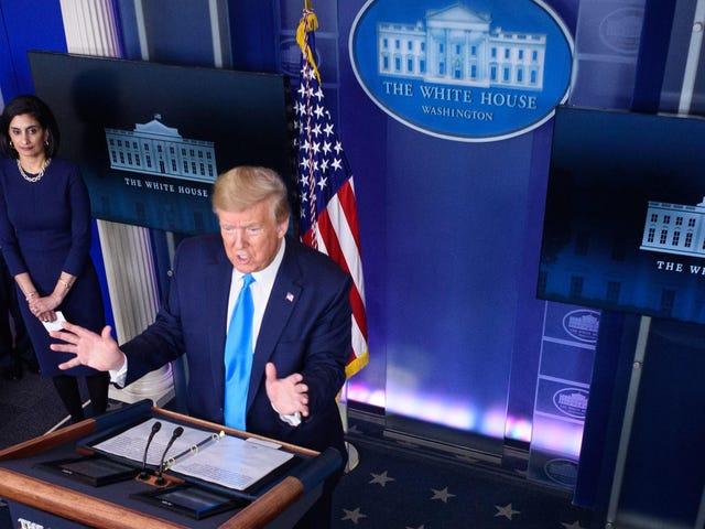 Thiên tài Trump đe dọa sẽ làm ô uế Tổ chức Y tế Thế giới ở độ cao của Đại dịch coronavirus