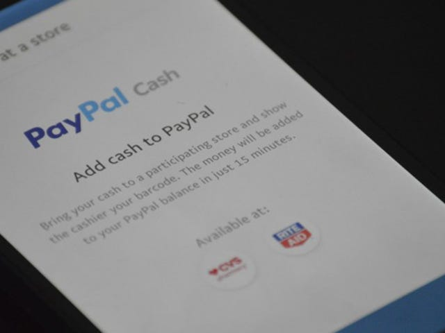 You Can Now Deposit Cash Into PayPal At Your Nearest CVS or Rite-Aid