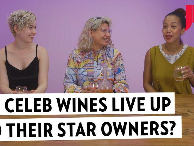 Can Celebrities Make Good Wine?