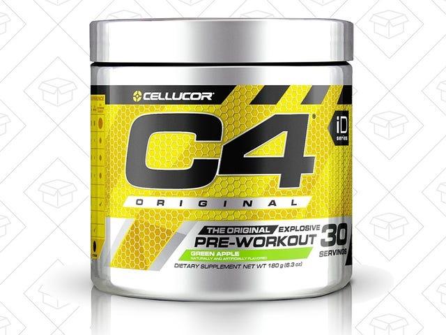 节省30%的C4前锻炼补充您最喜爱的风味