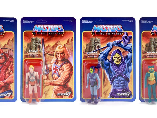 The Box Art Alone Makes These Retro Masters of the Universe Figures Worthy of Your Lust