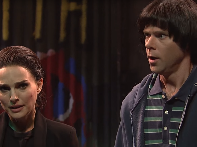 Eleven Grows Up To Be Natalie Portman In SNL Stranger Things Parody