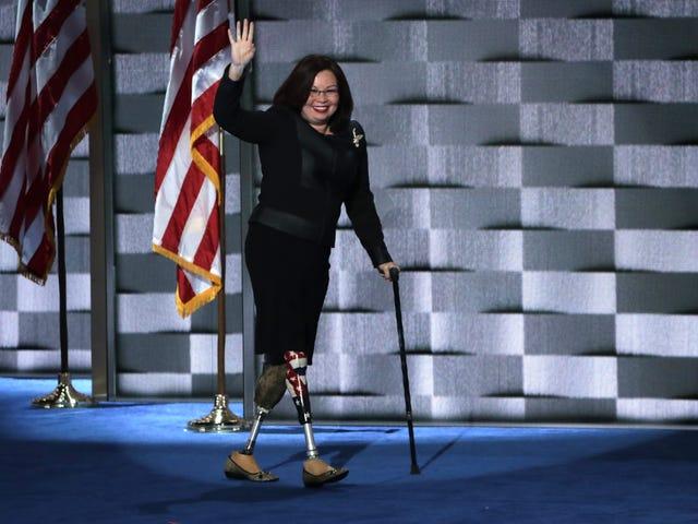 Watch: War Hero Sen. Tammy Duckworth Calls Trump 'Draft Dodger' and 'Cadet Bone Spurs'