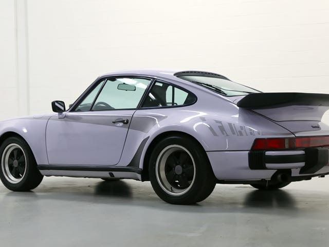 This Lilac 'Widowmaker' Porsche 911 Turbo Is Proof We Need More Pastel Cars
