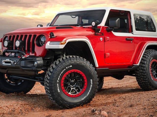El concepto de Jeep Jeepster pone la tecnología moderna fuera de la carretera en el estilo de los años 60