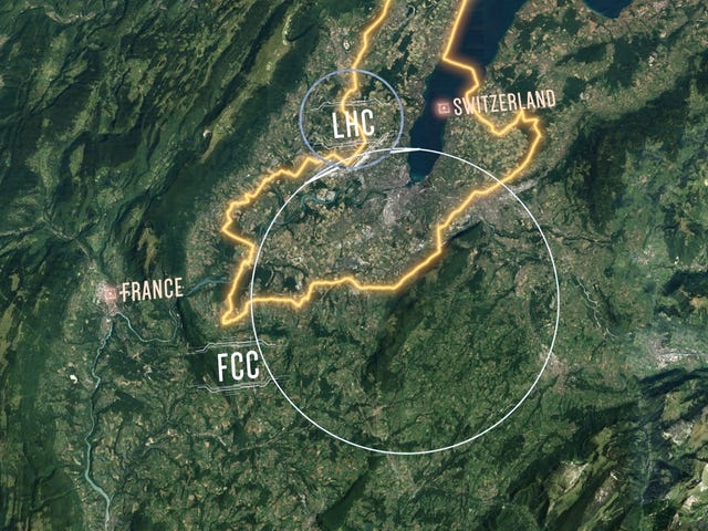 CERN Unveils Design for 62-Mile-Round Atom Smasher More Powerful Than the Large Hadron Collider