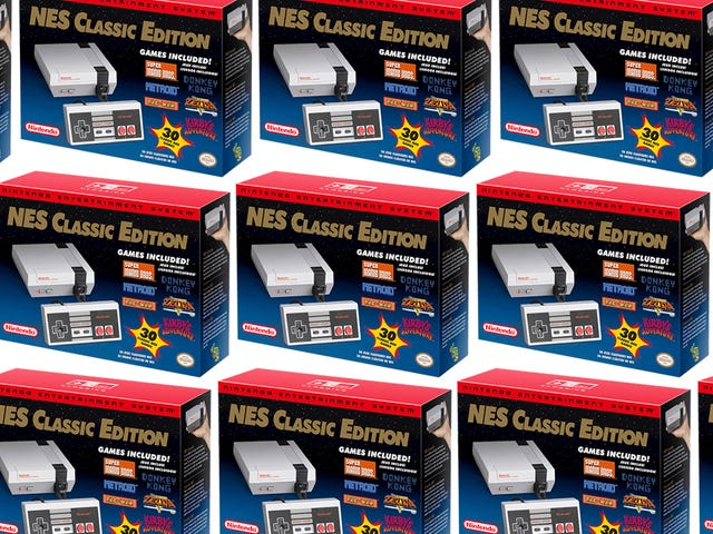 ThinkGeek Is Selling a Fresh Stash of NES Classics—But There's a Catch [Updated]