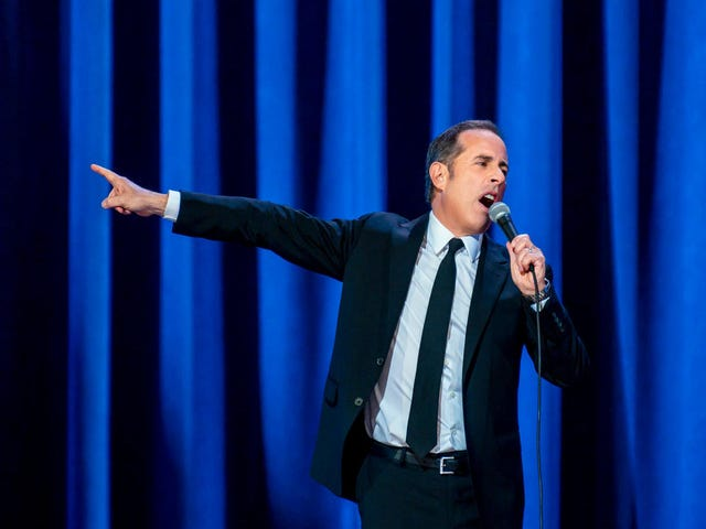 Jerry Seinfeld recycles an old Seinfeld bit in this trailer for his new Netflix special