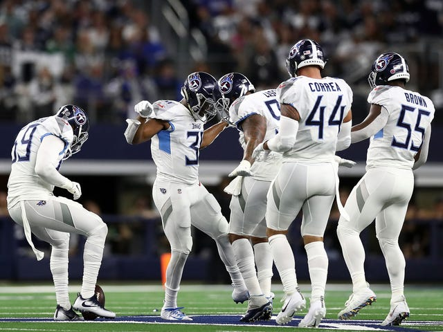 Kevin Byard Did T.O. Proud With His Celebration On The Cowboys' Star