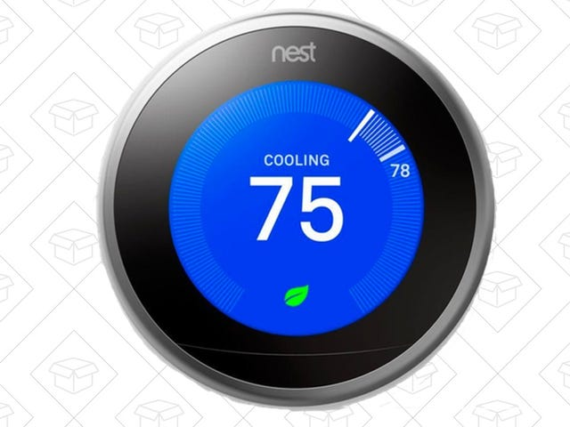 Prepare For Summer Heat With This Discounted Nest Learning Thermostat