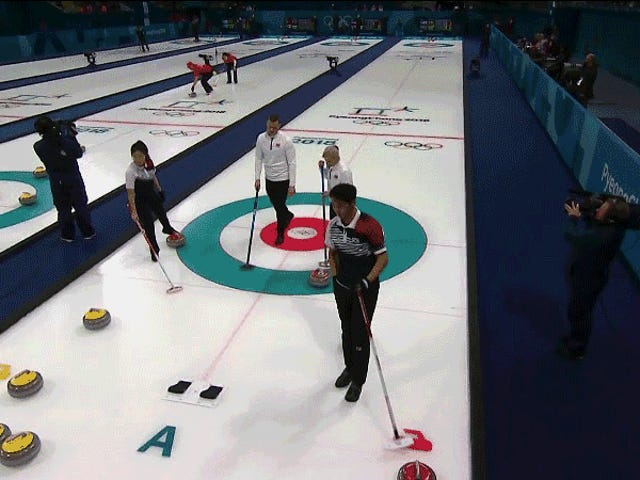 Curling Is A Contact Sport