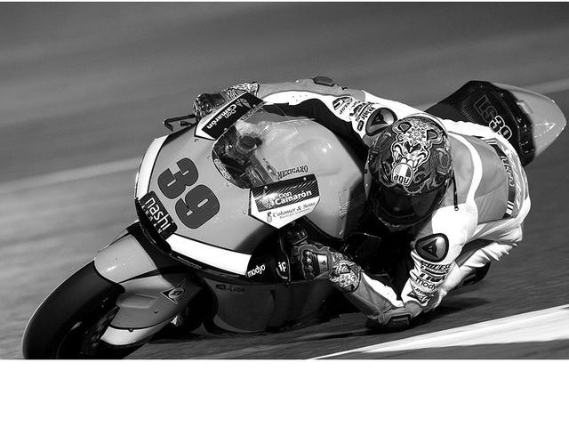 On the loss of another GP racer...