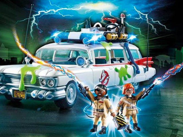 The First Pics of Playmobil's Ghostbusters Toys Are Here and They're Fantastic