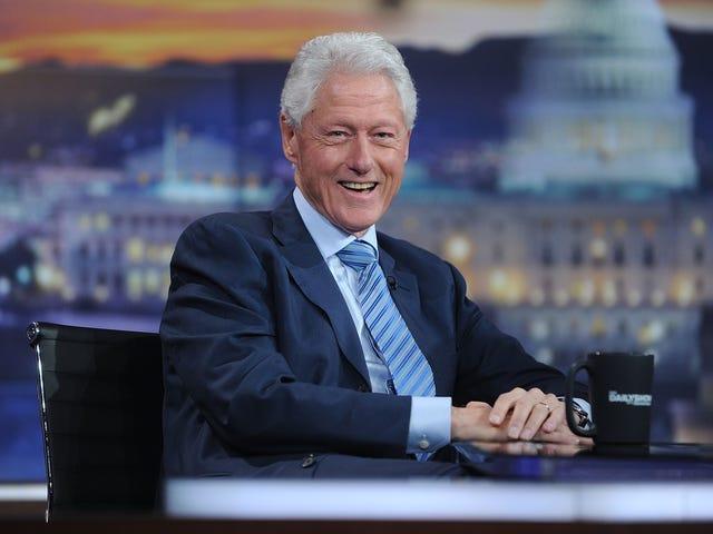 """Bill Clinton har """"mycket respekt"""" för Sarah Huckabee Sanders efter Whole Restaurant Thing"""