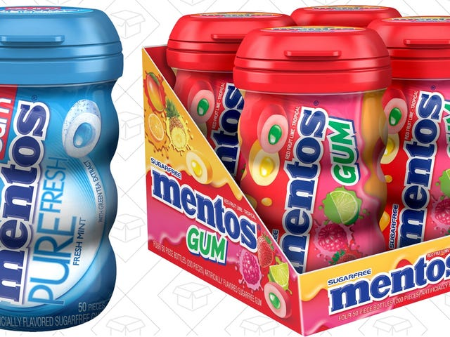 Mentos Gum Is the Best Gum - Stock Up For 30% Off