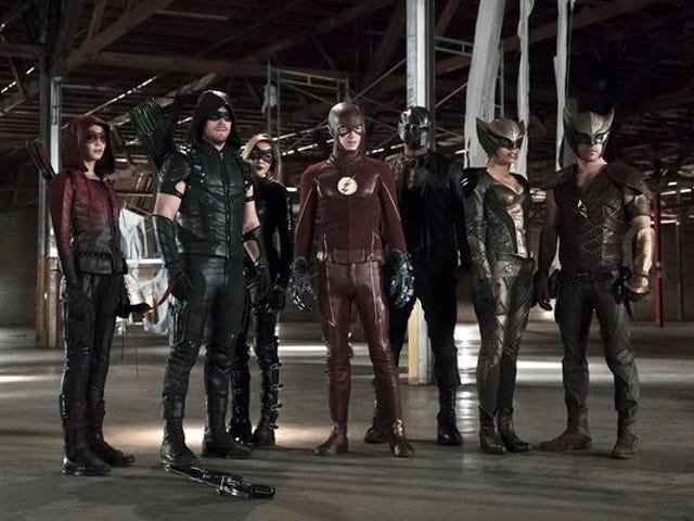Arrow 4.08: Legends of Yesterday