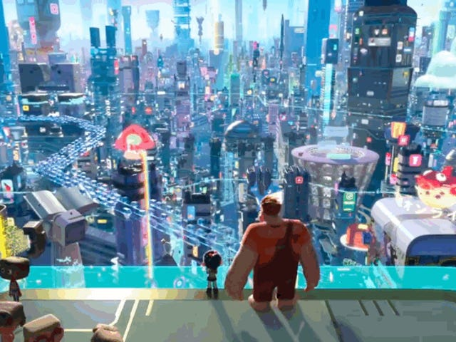 Ralph Breaks the Internet, and Explodes a Bunny, in the Debut Sequel Trailer