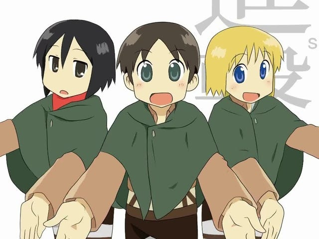 Watch This - Nichijou X Attack on Titan