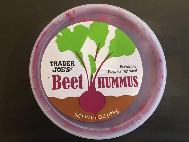 Revisión de la comida Bougie: Hummus de remolacha