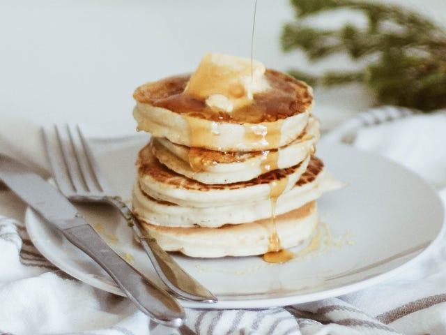 Leave Your Pancake Batter Lumpy