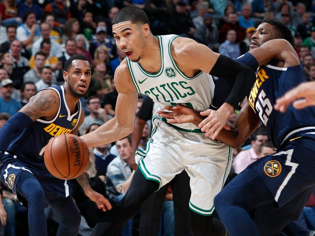 Jayson Tatum Appears To Have Contracted Kobe Brain