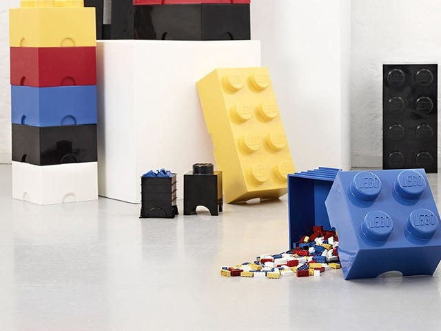 Put All Your LEGOs In This Giant, Discounted LEGO