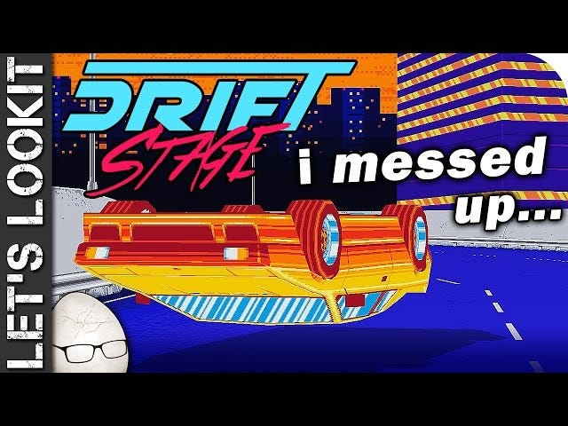 "Drift Stage ""I flipped..."" 80s Neon Overdose"