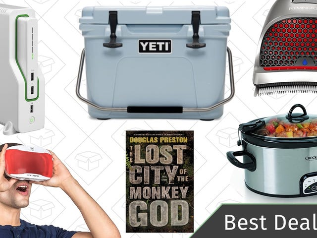 The Best New Year's Eve Deals: Clear the Rack, YETI Cooler, Kindle Ebooks, and More