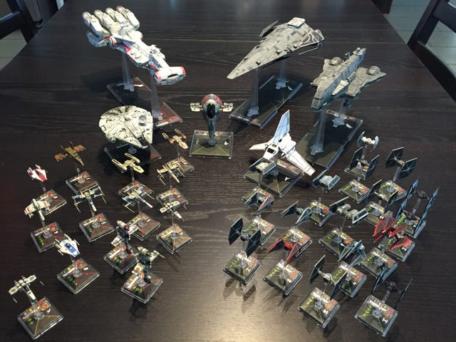 By Request: Shameful Little Plastic Spaceship Collection