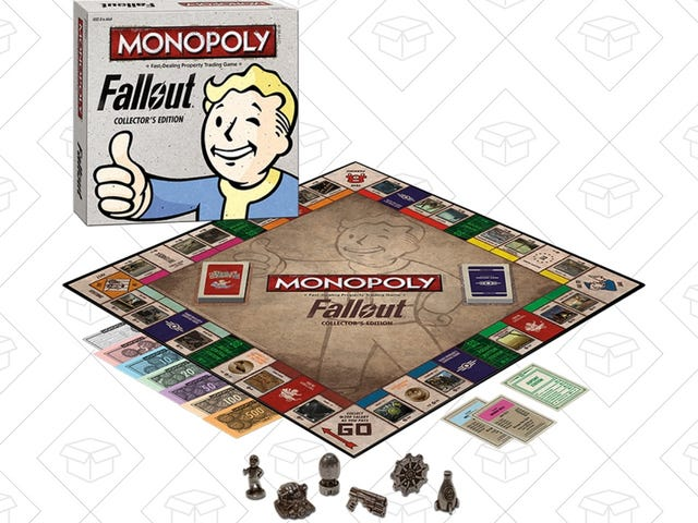 Pass the Time in the Vault With Fallout Monopoly, Now Just $25