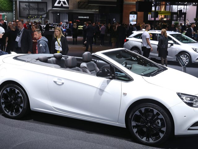 The Buick Cascada Has Been Put Out Of Its Misery