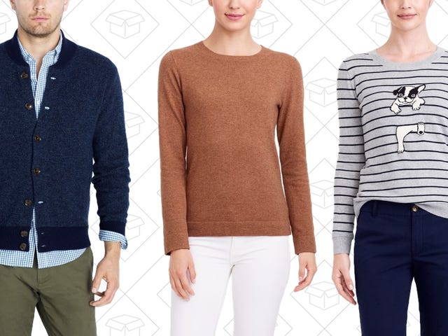 It's Basically Sweater Weather, So Grab Two-for-One at J.Crew Factory