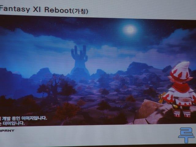 Mobil için <i>Final Fantasy XI</i> Reboot&#39;a İlk Bakış
