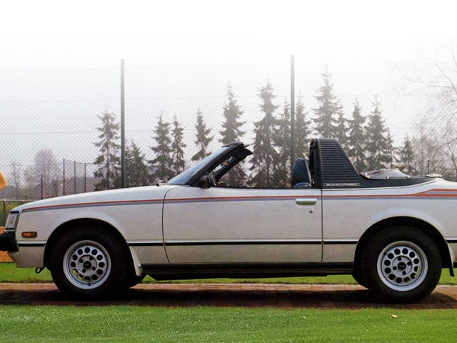 It's Friday! Get out there and chase some sunshine, like this Toyota Celica here. It's in the name and everything.