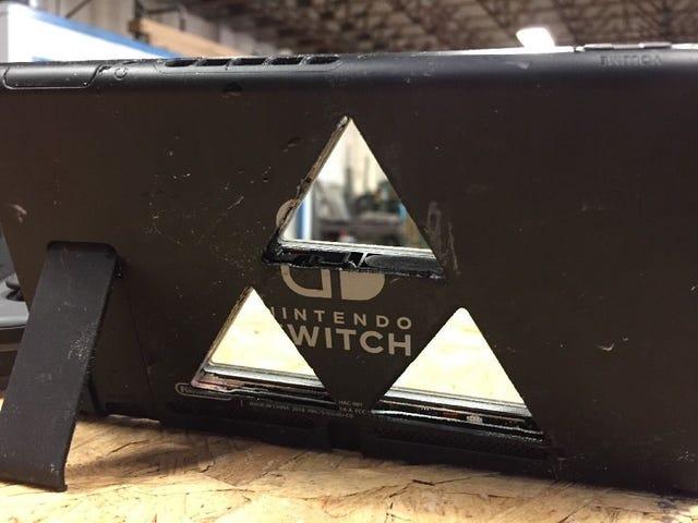 Nintendo Switch Vs. High Pressure Water Jet