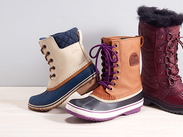 Start Prepping For Snow With Nordstrom Rack's Sorel Sale