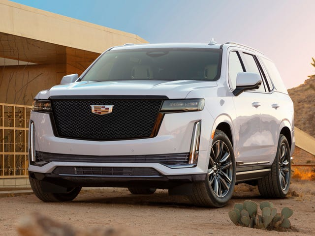The 2021 Cadillac Escalade Base Price Bumped Up $1,000 In This Economy