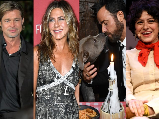Jennifer Aniston and Brad Pitt and Justin Theroux and Alia Shawkat Are All Doing Just Fine!