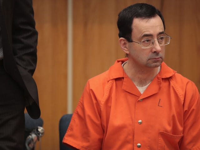 Larry Nassar Loses Appeal Of His Federal Sentence For Child Porn