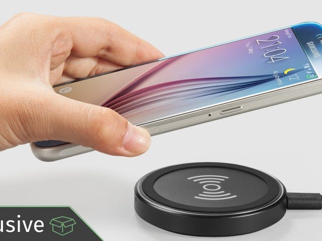Just In Time for the iPhone X, Here's An Exclusive Deal On Anker's Qi Charging Pad