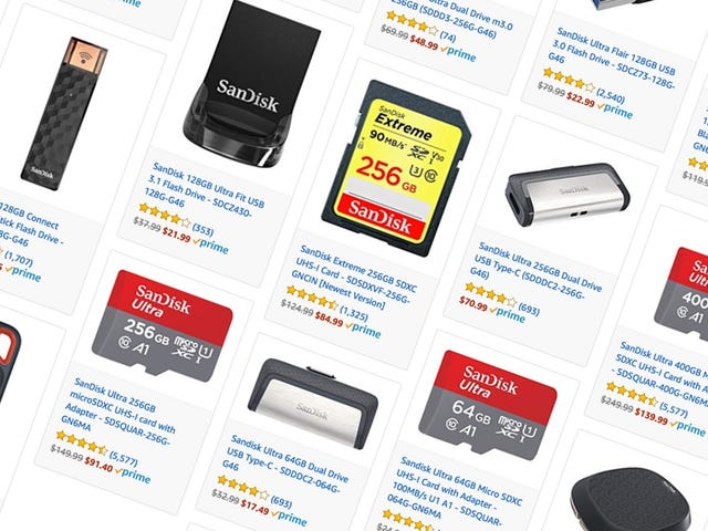 Score Prime Day Savings On Flash Storage of Every Shape and Size