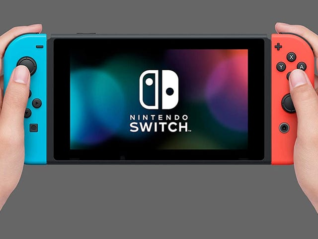 Amazon Has Nintendo Switch Units Back at $300, Ships Month's End