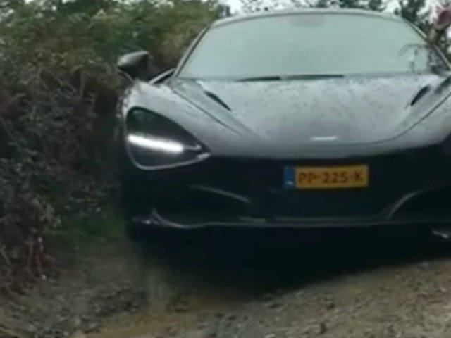 An Off-Roading McLaren 720S Is One Of The Most Nerve-Wracking Things We've Seen All Week